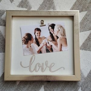 NWT- Love Picture Frame